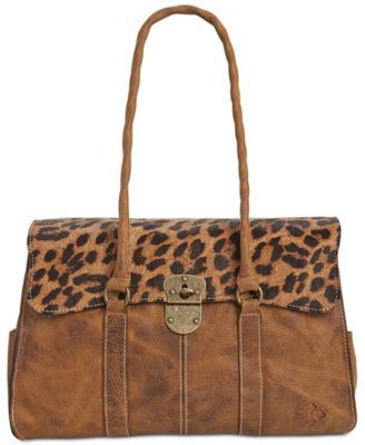 Patricia Nash Leopard Vienna Satchel | womens fashion | Pinterest ...