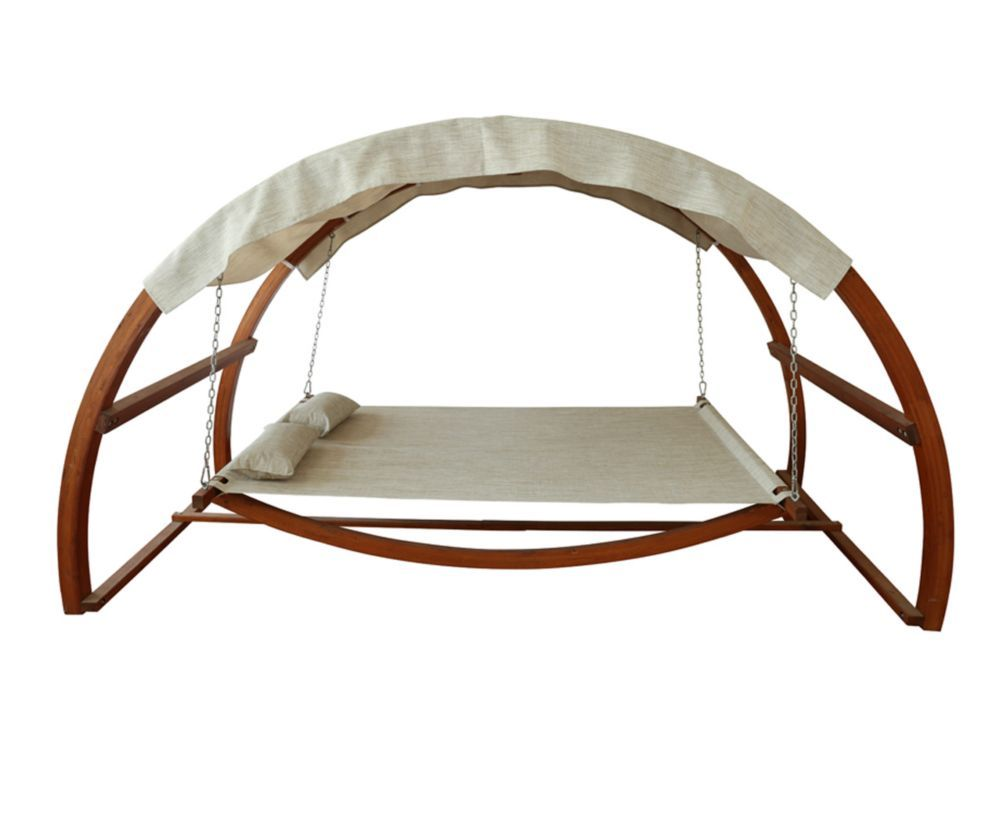 Swing Bed With Canopy Outdoor Bed Swing Bed Swing Porch Swing Bed