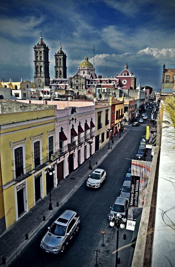 Centro de Puebla Mexico