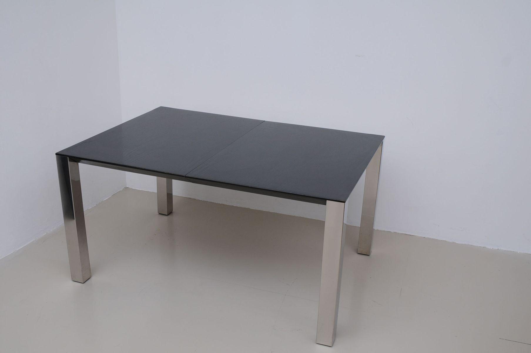 Grosser Esstisch Holz Tisch Weiss Hochglanz Ausziehbar 140