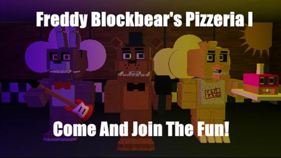 Open Freddy Blockbear S Pizzeria I Roleplay Roblox Roblox
