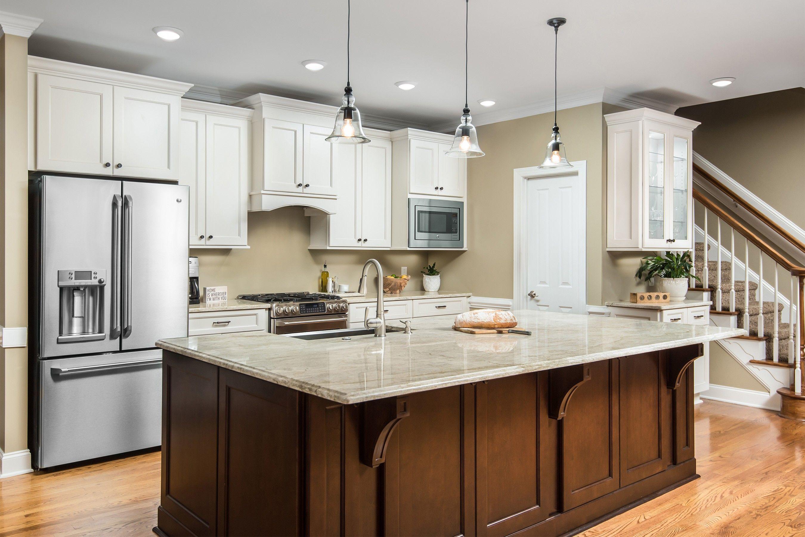Impressive One Wall Kitchen Ideas With Island, A kitchen