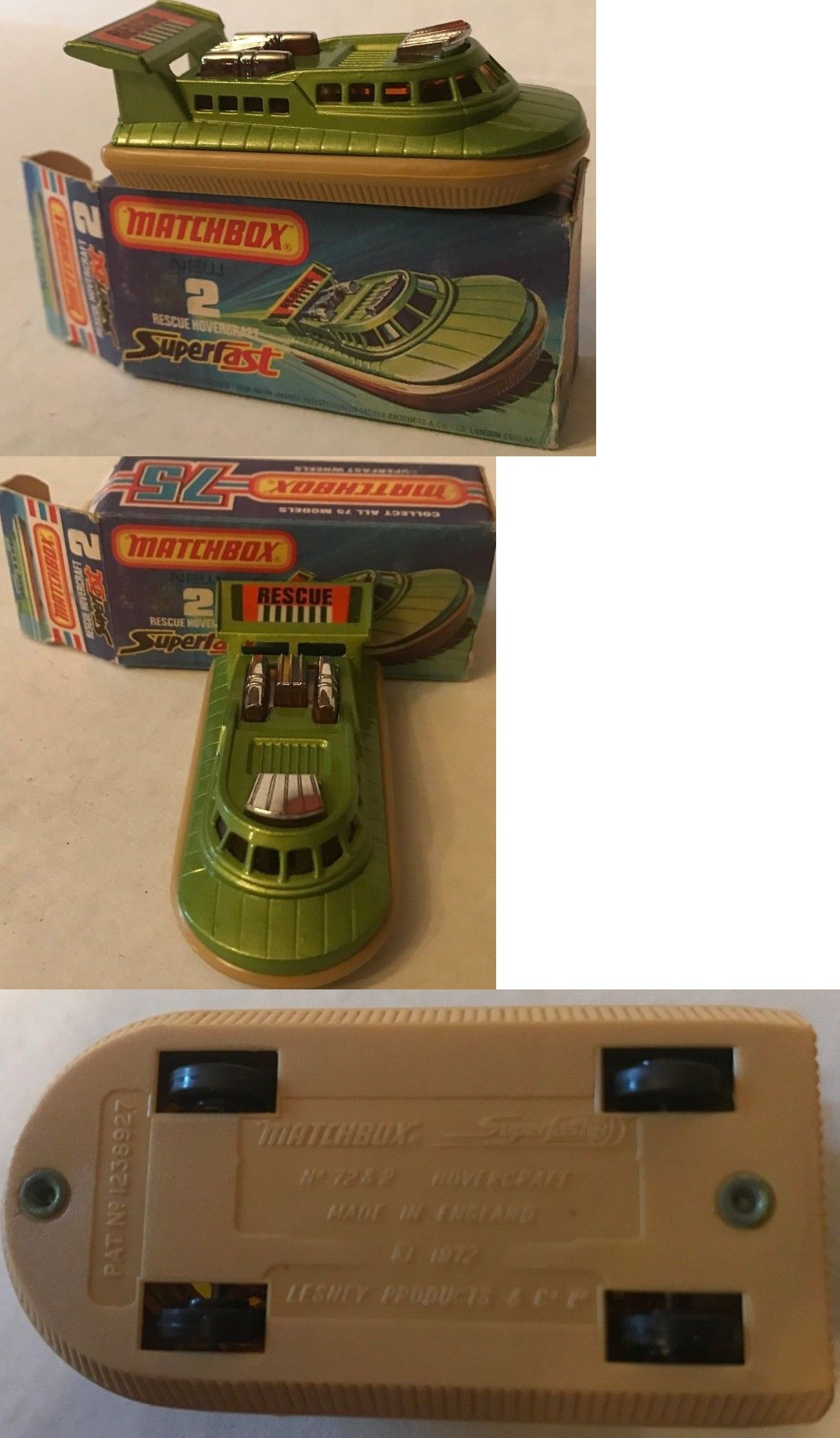 Details about Rare 1975 Matchbox Superfast 75 Rescue
