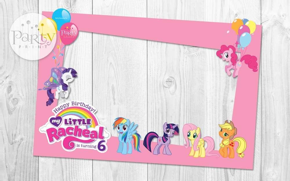 My Little Pony Birthday Party Ideas Unicorn Frame