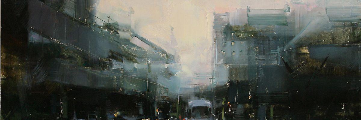 Contemporary Landscape Paintings Artist Tibor Nagy Fine Art Oil Painter For Sale Famous