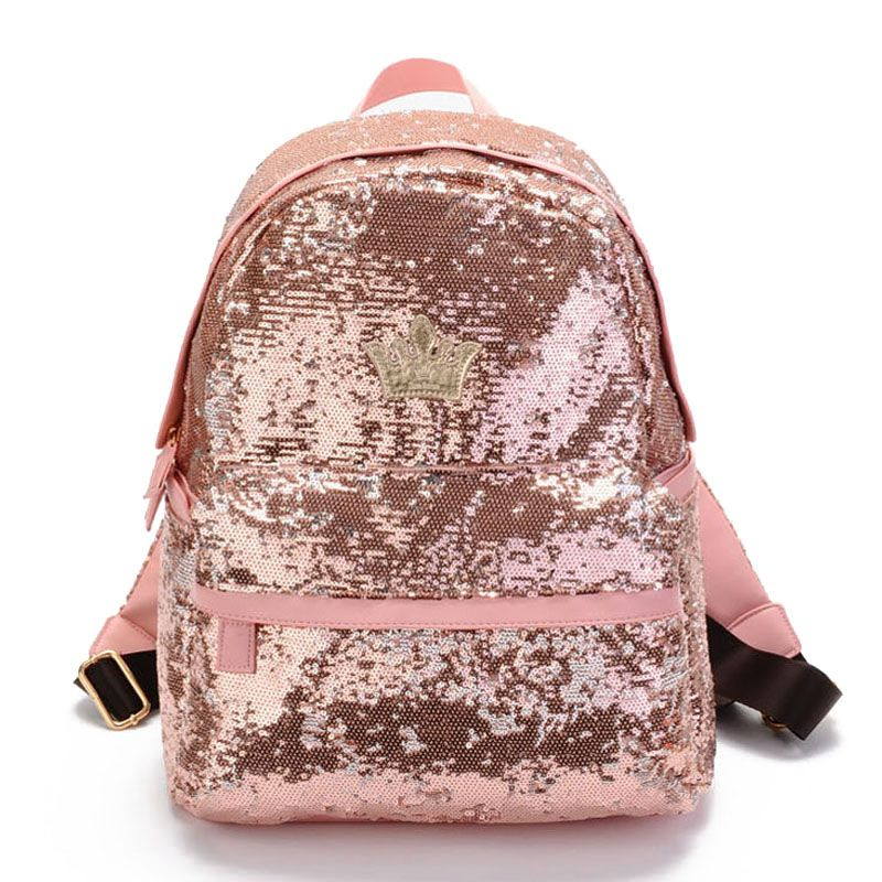 Cheap2016 Glitter Backpack Women Sequin Backpacks For Teenage ...