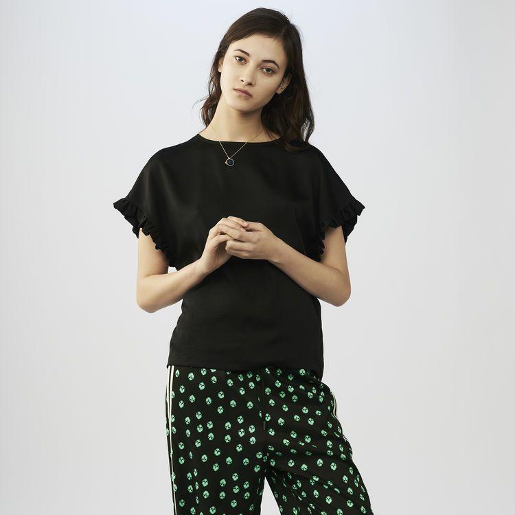 LARME Black   maje.com   knit SS 2019   Pinterest 3222405b9e68
