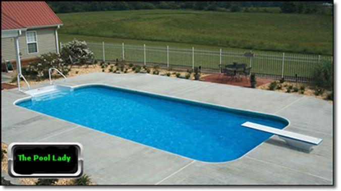 16 X 32 Rectangle Inground Steel Swimming Pool Kit Lifetime