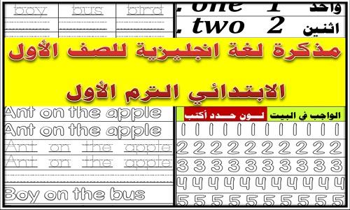 مذكرة لغة انجليزية للصف الأول الإبتدائي الترم الأول 2020 مذكرات تعليمية Periodic Table