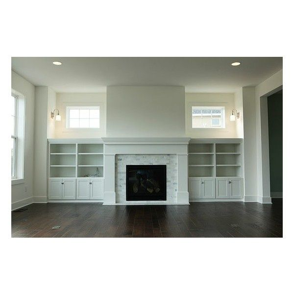 Swapping Windows And Adding Built Ins Possible Living: 237424211578983579 Cabinets Next To Fireplace With Drawers
