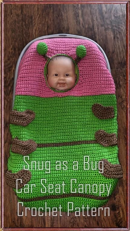 Car Seat Crochet With Opening Tutorial