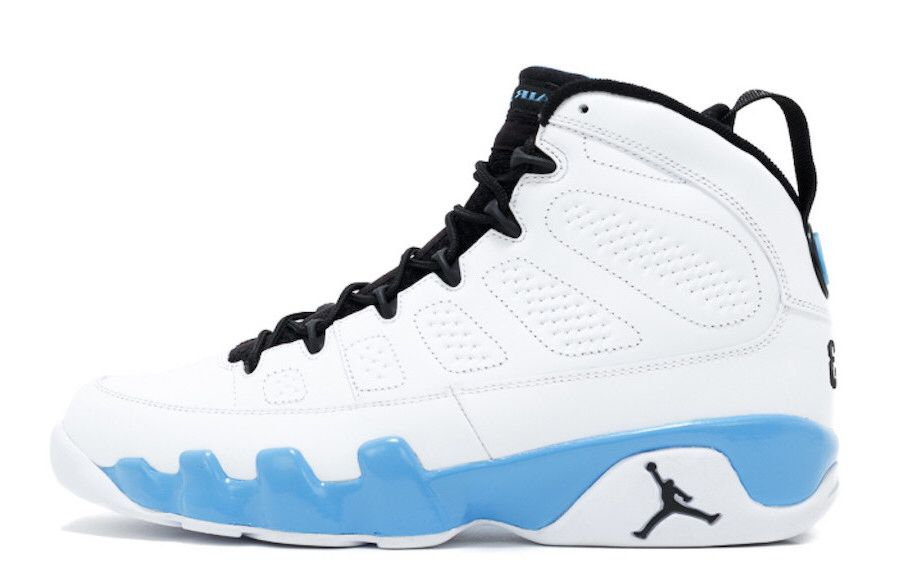 pretty nice 598b6 e6488 Feb 9, 2019 Air Jordan 9 Retro University Blue  190.00 Download the Sneaker  Crush here  snkcr.sh 2dDpWOC