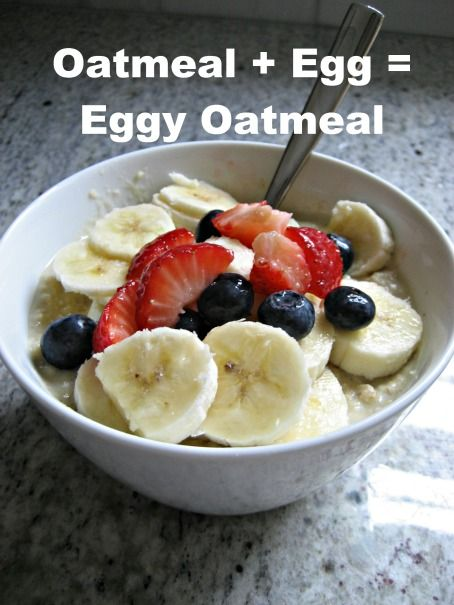 Egg And Oatmeal Microwave Recipe Sounds Gross But I Have Eggs To Use