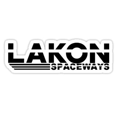 Lakon Spaceways Elite Dangerous Sticker By Didgymons Stickers Elite Vinyl Sticker