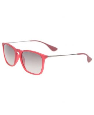 lentes ray ban rojos