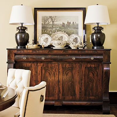 Empire Sideboard - Tour a Restored 19th Century Farmhouse ...