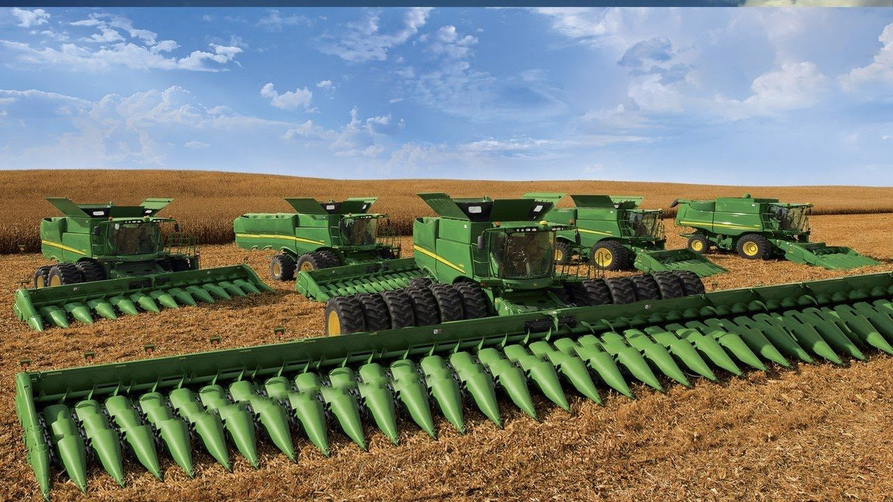 World Amazing Modern Agriculture Heavy Equipment Mega Machines Cnc