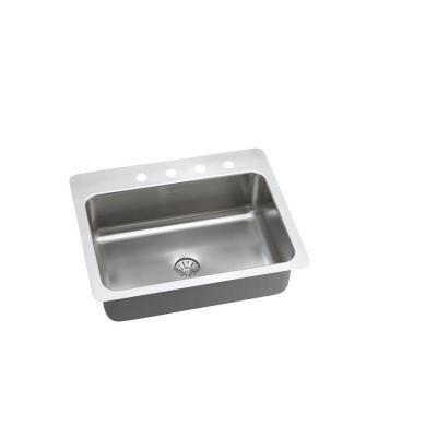 Elkay Innermost Perfect Drain Dual Mount Stainless Steel 27 In 4