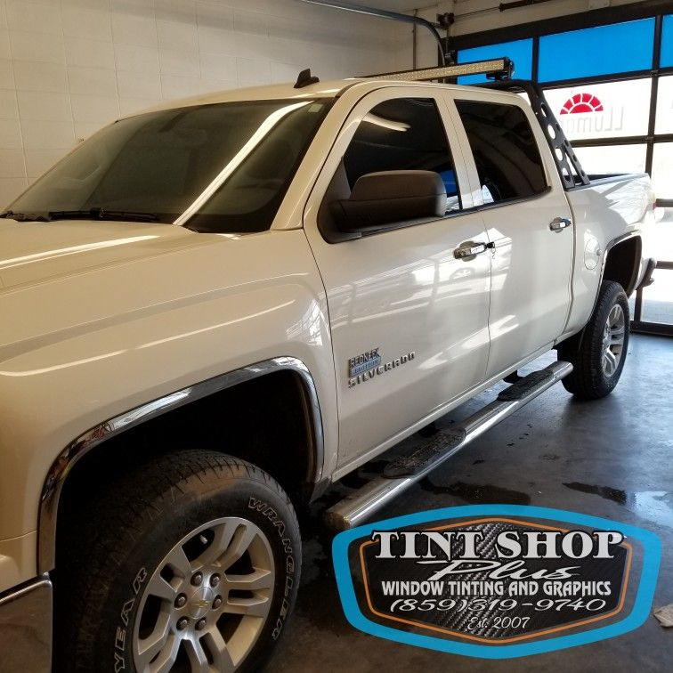We Tint Trucks Enhanced Appearance With Solar Control And Privacy