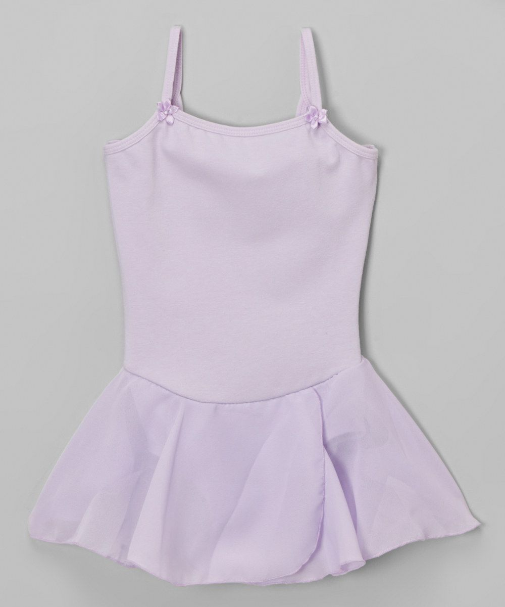 22bd73c30 Look at this Lavender Skirted Leotard - Toddler   Girls on  zulily ...