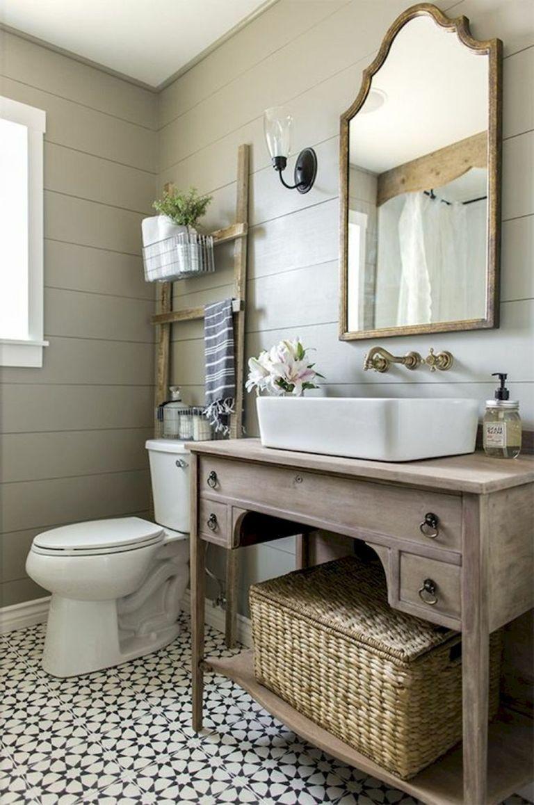 150 stunning small farmhouse bathroom decor ideas and on stunning small bathroom design ideas id=80100