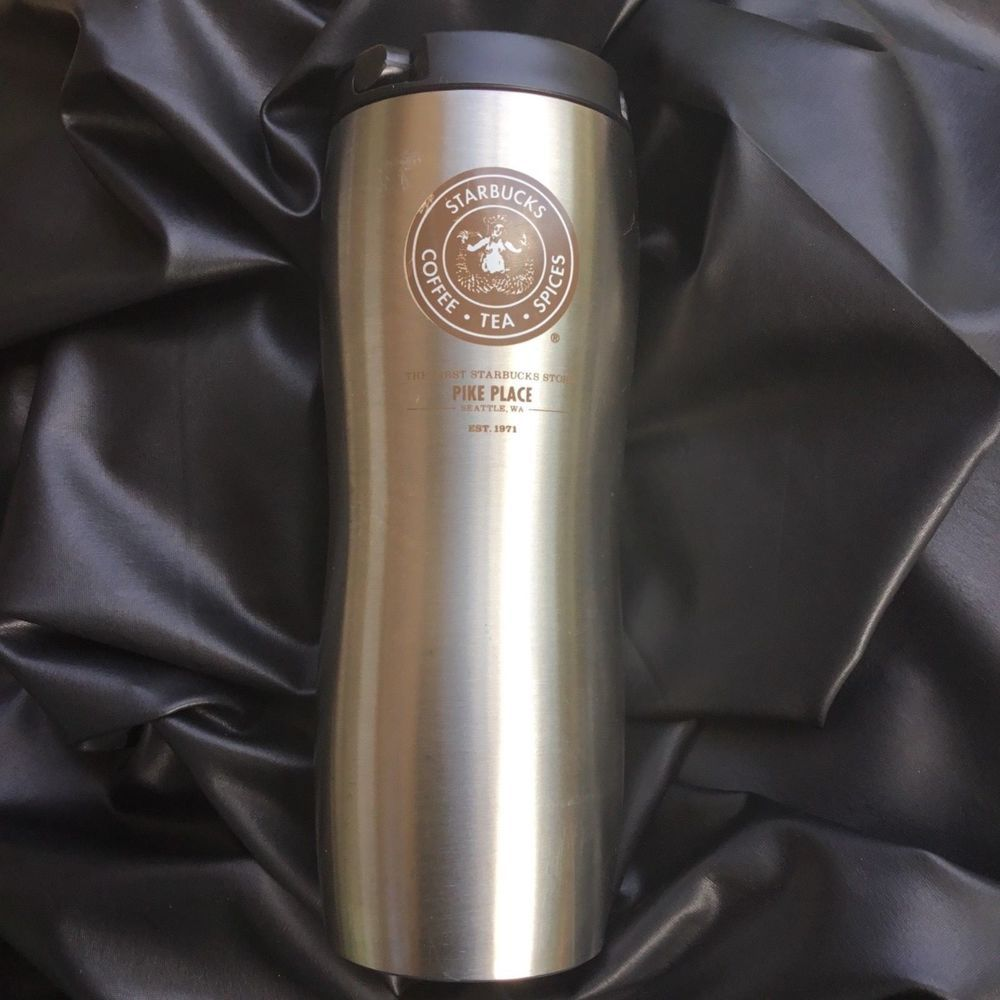 Starbucks 2008 First Store Pike Place Traveler Stainless