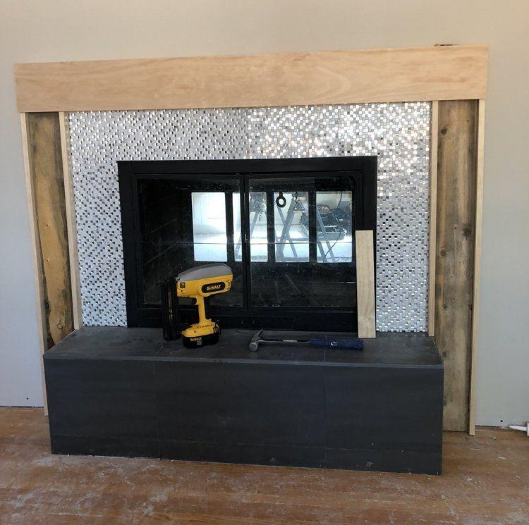 How to build a modern fireplace mantel modern fireplace