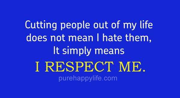 Metlife Quote Cutting People Out Of My Life Does Not Mean I Hate Themit Simply