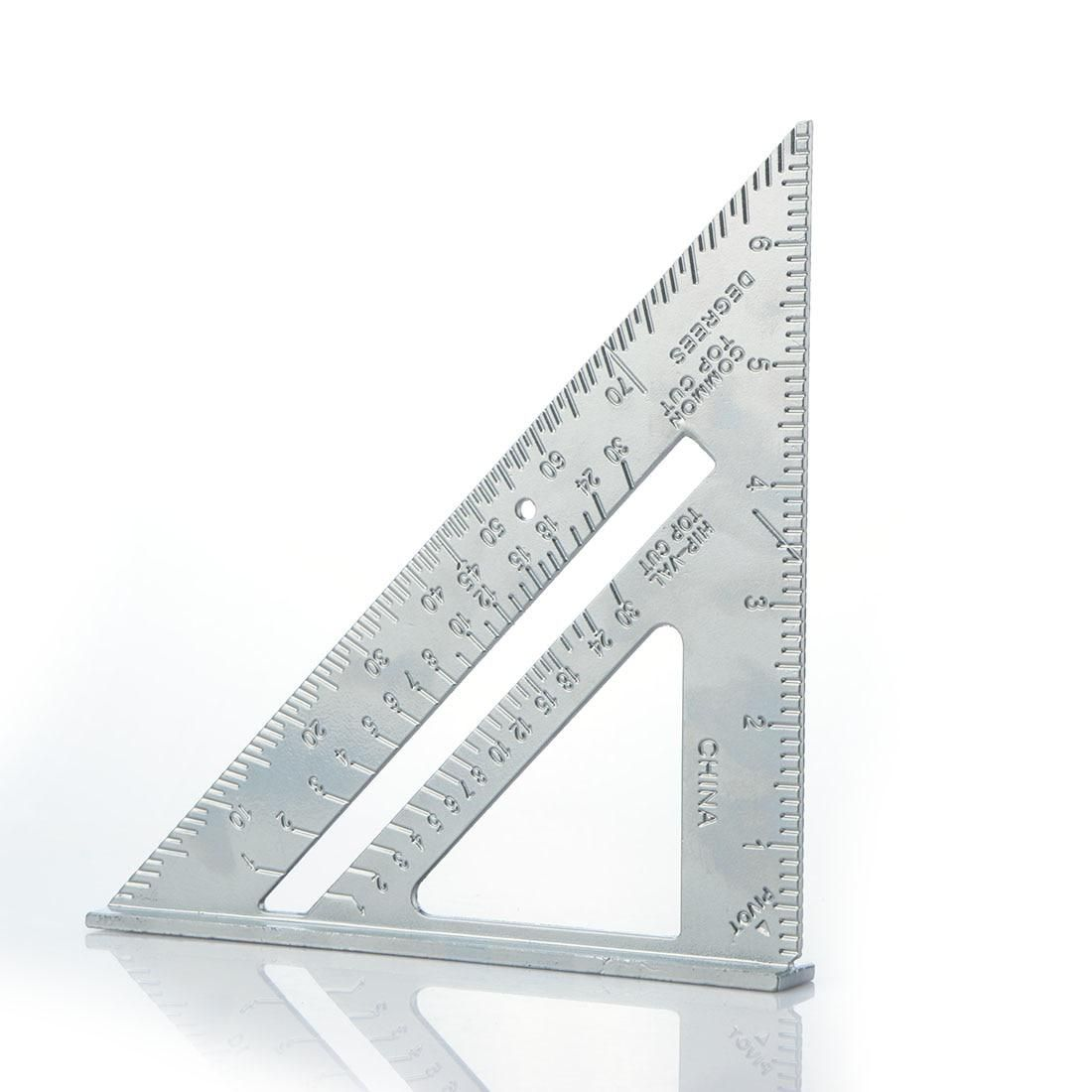 7 Inch Speed Square Triangle Rule Carpenter Measuringtools Rafter Speedlite Layout Tool Triangle Angle Carpenter Triangle Rules Speed Square Triangle Angles