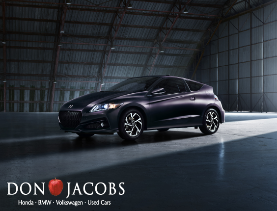 Don Jacobs Honda >> Power And Efficiency The 2016 Honda Cr Z Check It Out At
