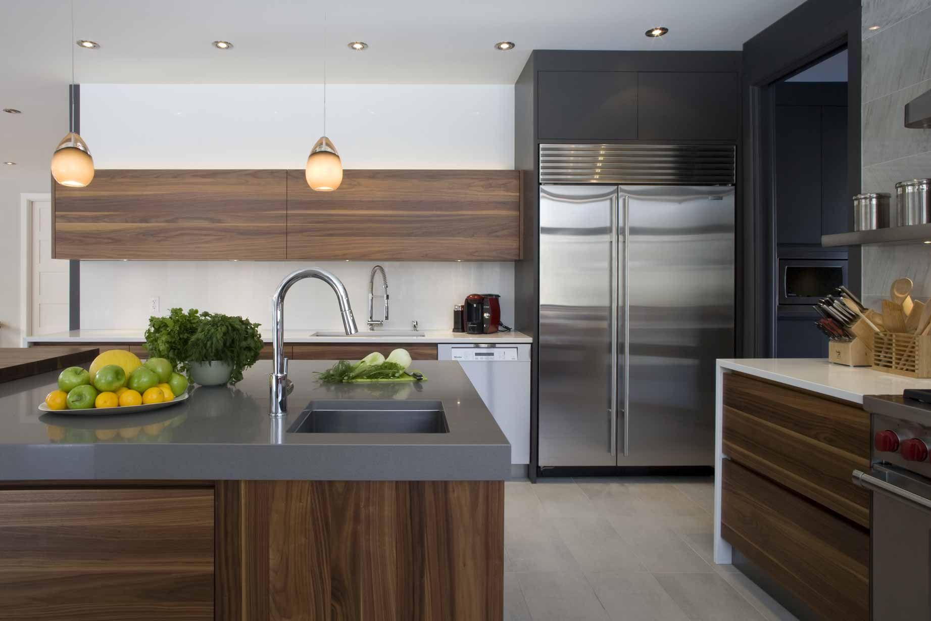 Armoires de cuisine fabriqu s montr al kitchen for Kitchen cabinets montreal