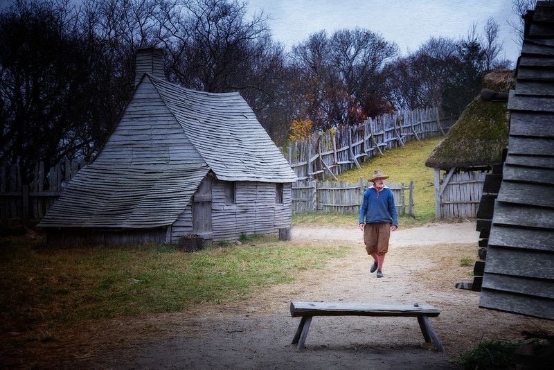 See more Plimoth Plantation MA House styles, Colonial