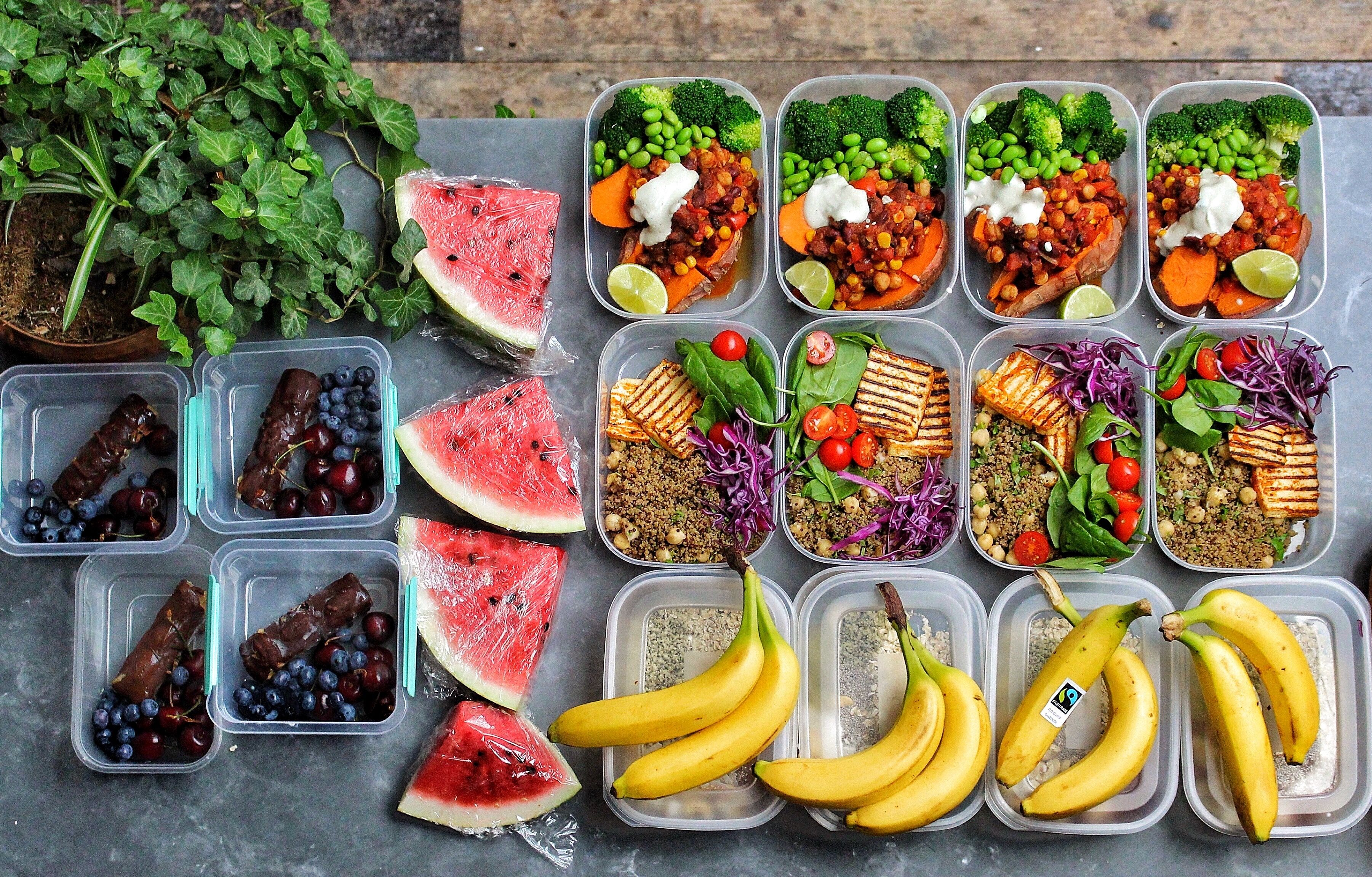 HIGH PROTEIN VEGAN MEAL PREP in 2020 High protein vegan
