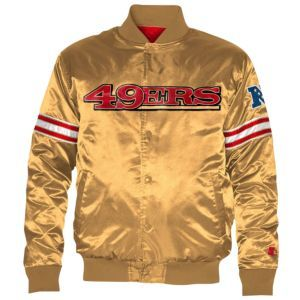 6d80c91da Starter NFL Satin Jacket - Men s - San Francisco 49ers - Gold ...