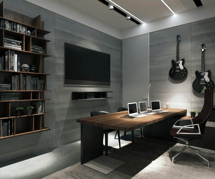 12 Scintillating Home Office Ideas Man cave home office