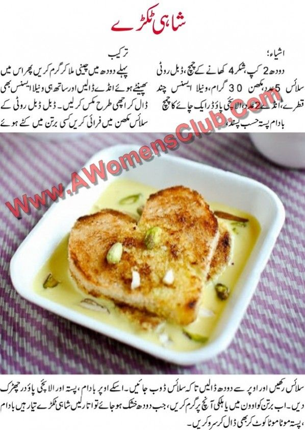 Indian Cooking Recipes In Urdu
