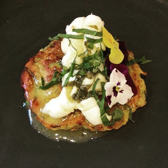 Such a popular entree. Morton bay bug on a zucchini and potato rosti with a lemon and sorrel butter. Miss Daisy wants one herself. X #daisydining #daylesford #catering #daylesfordcatering #bespokecatering #bespoke #traditionalcooking #localproduce #mortonbaybugs #zuchini #potatoes #food #foodpics #foodstyle #foodgram #foodshare #foodforfoodies #privatechef #privatedining #dinner #melbourne #melbournefood #wanderlust #wandervictoria #weekend #weekendgetaway #daisylove #daisystyle