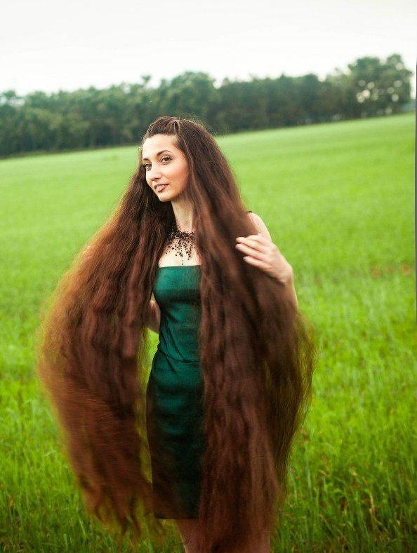 Super lange haare