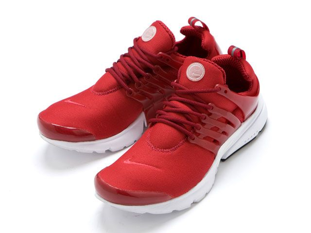 Nike Unisex's Running Shoes Air Presto Deep Red / Deep Red-White-Black