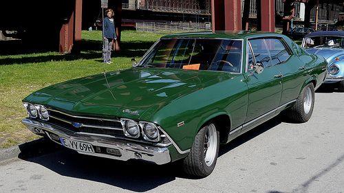 1969 Chevrolet Chevelle Malibu Sport Sedan Chevrolet Chevelle
