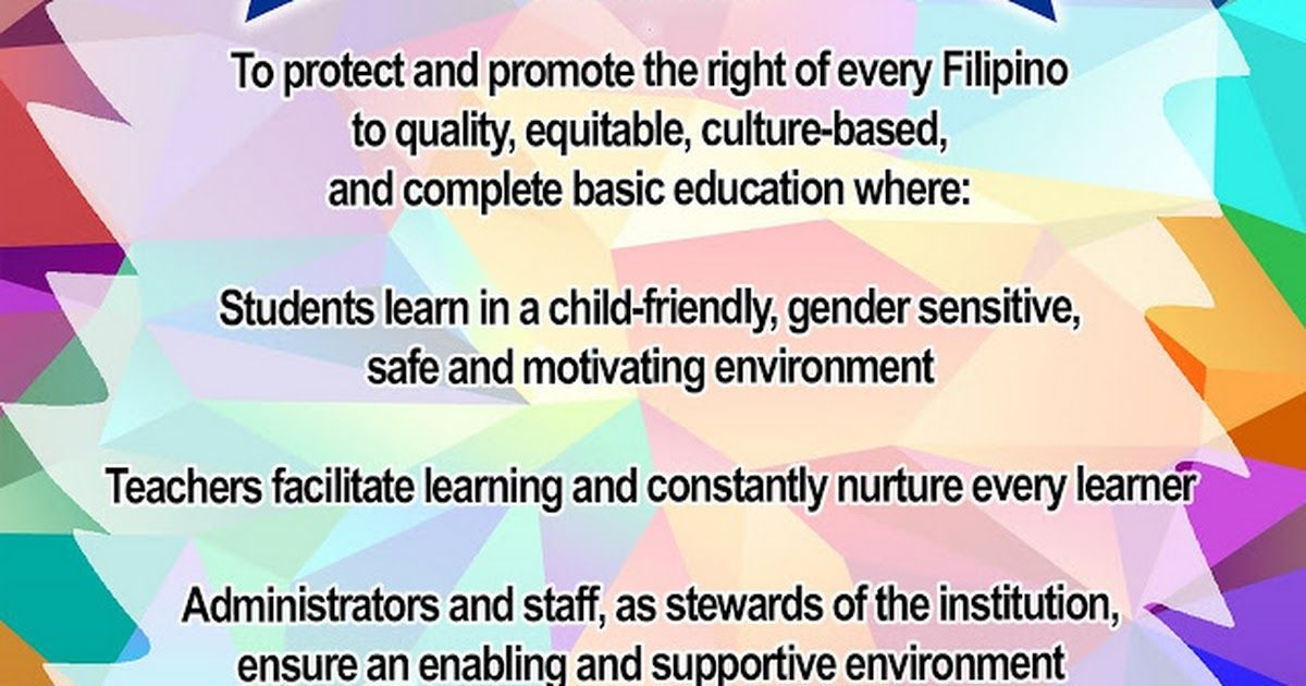 Deped mission vision core values 1g teaching ideas deped mission vision core values fandeluxe Gallery