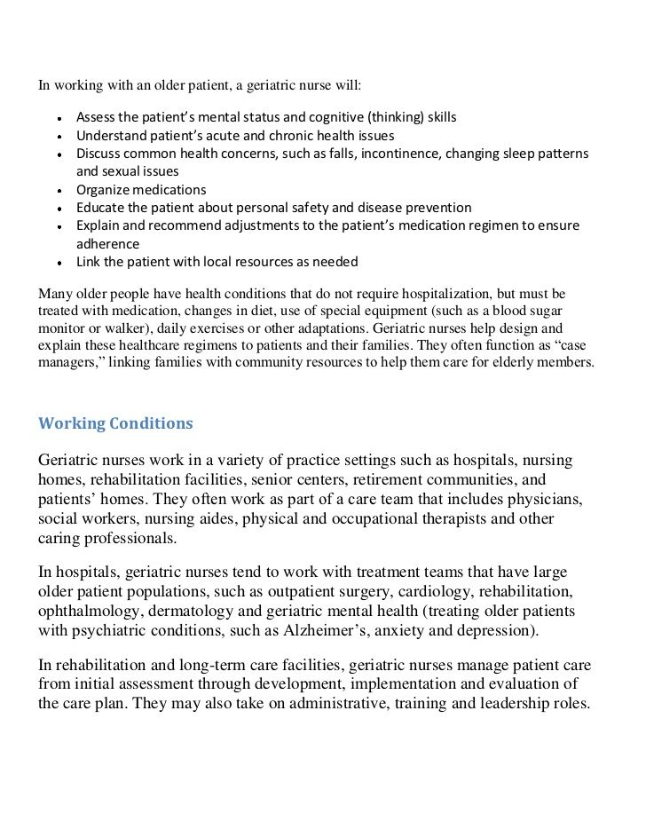 geri role | nursing | Pinterest | Geriatric nursing