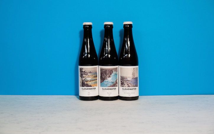 Cloudwater Brew Co Beer Label Designs By DrMe  Design