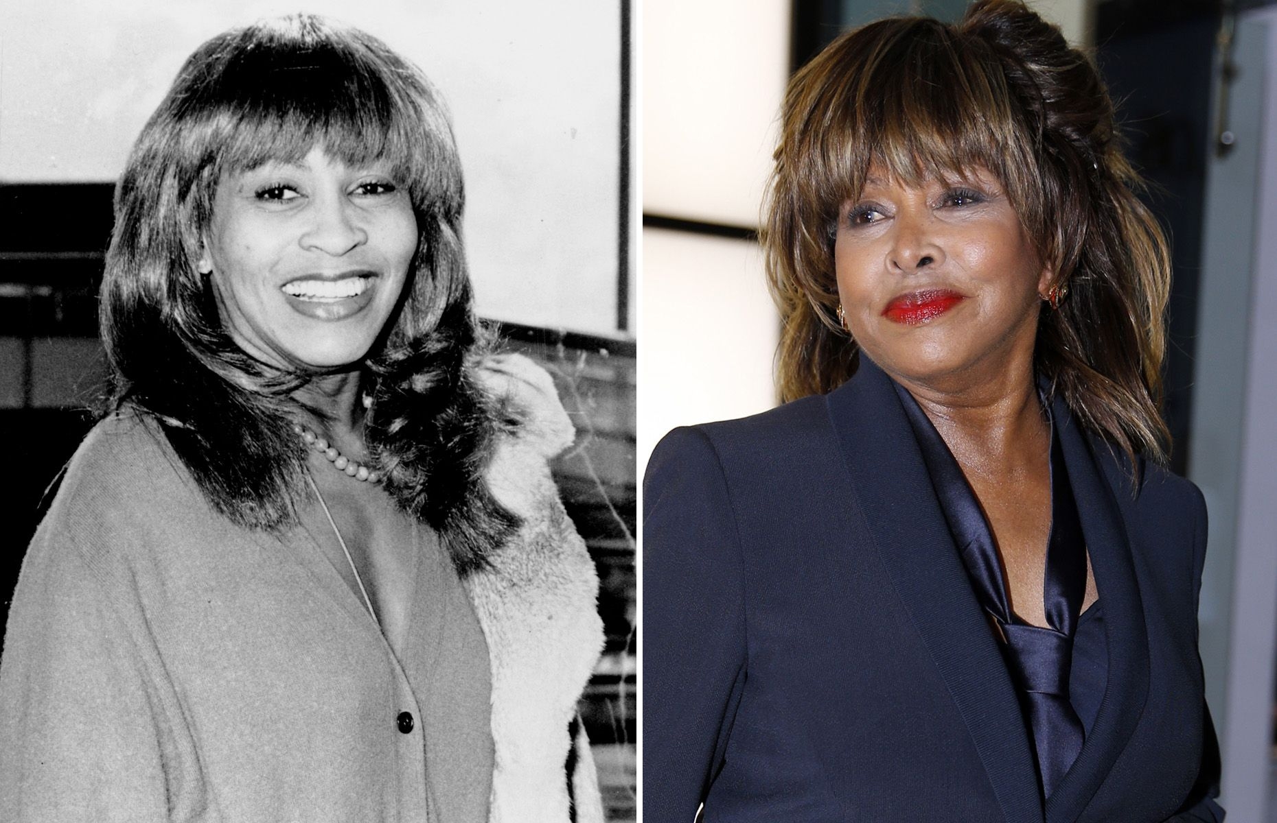 Music artists of the '70s Then and now Tina Turner (1979