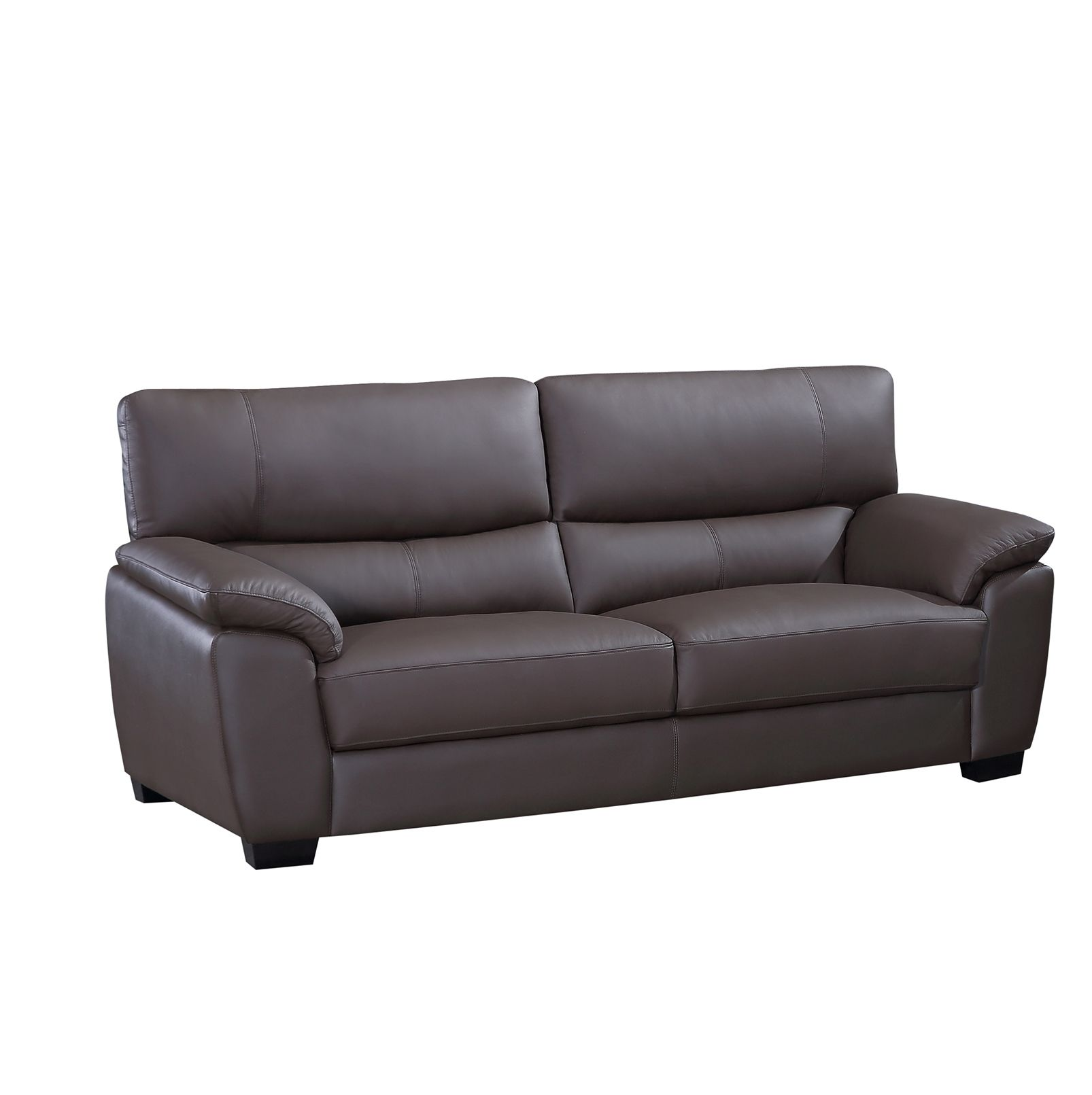 Milton Genuine Leather Sofa Only $1299 Including Tax U0026 Free Local Delivery!  #sofa #
