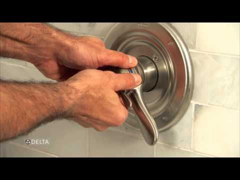 How To Adjust The Water Heat Range On Several Delta Shower Handles