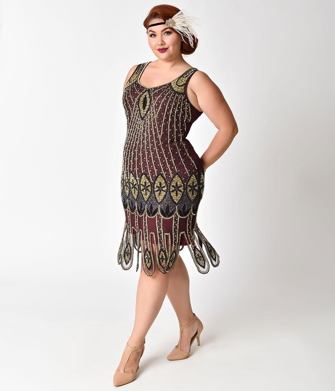 1920 gatsby dress plus size | Fashion in 2019 | Plus size flapper ...