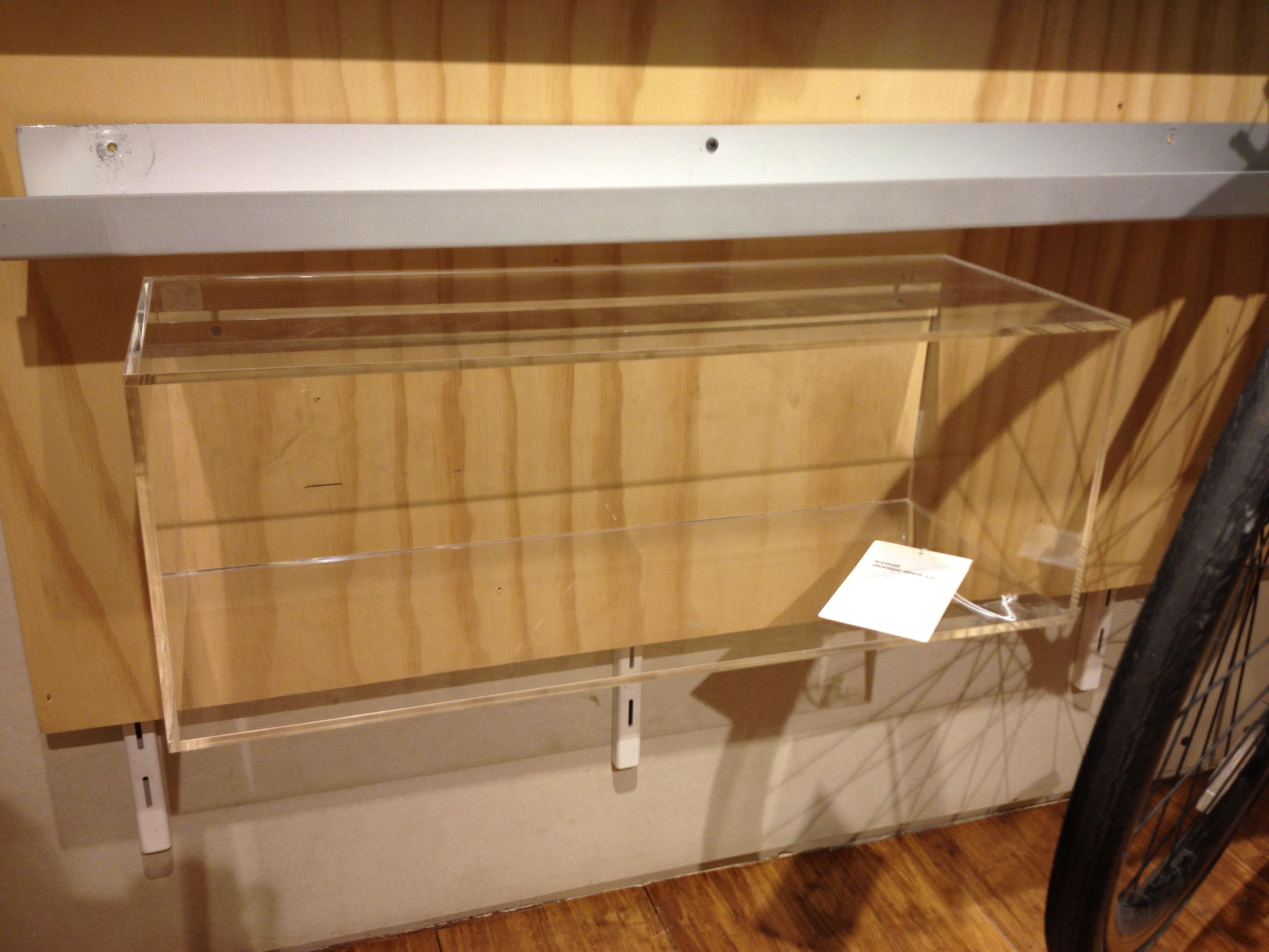 "Format shelf 22"" cb2 $69.95"
