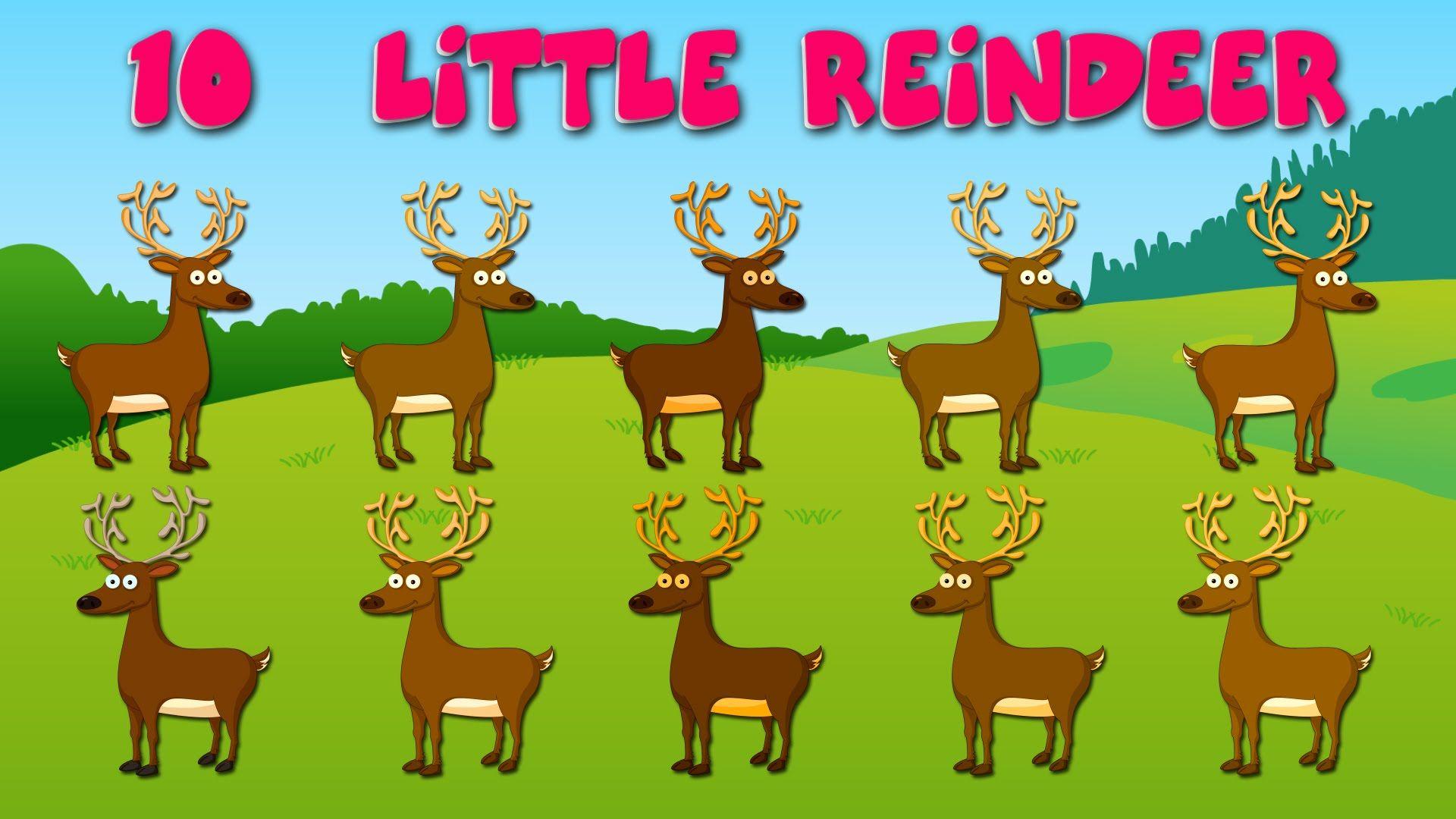 10 Little Reindeer