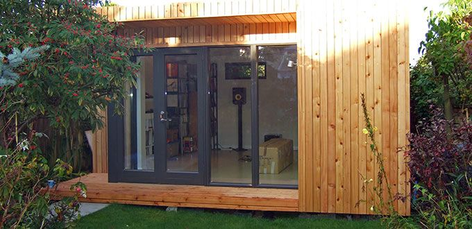 wooden office buildings. Garden Office Buildings / Home \u0026 Insulated Offices @ Vivid Green   Backyard Pinterest Office, And Room Wooden N